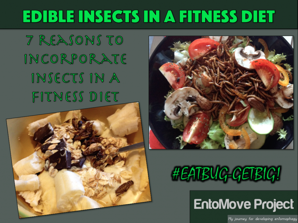fitness insects proteins entomophagy bugs mealworms cricket bodybuilding