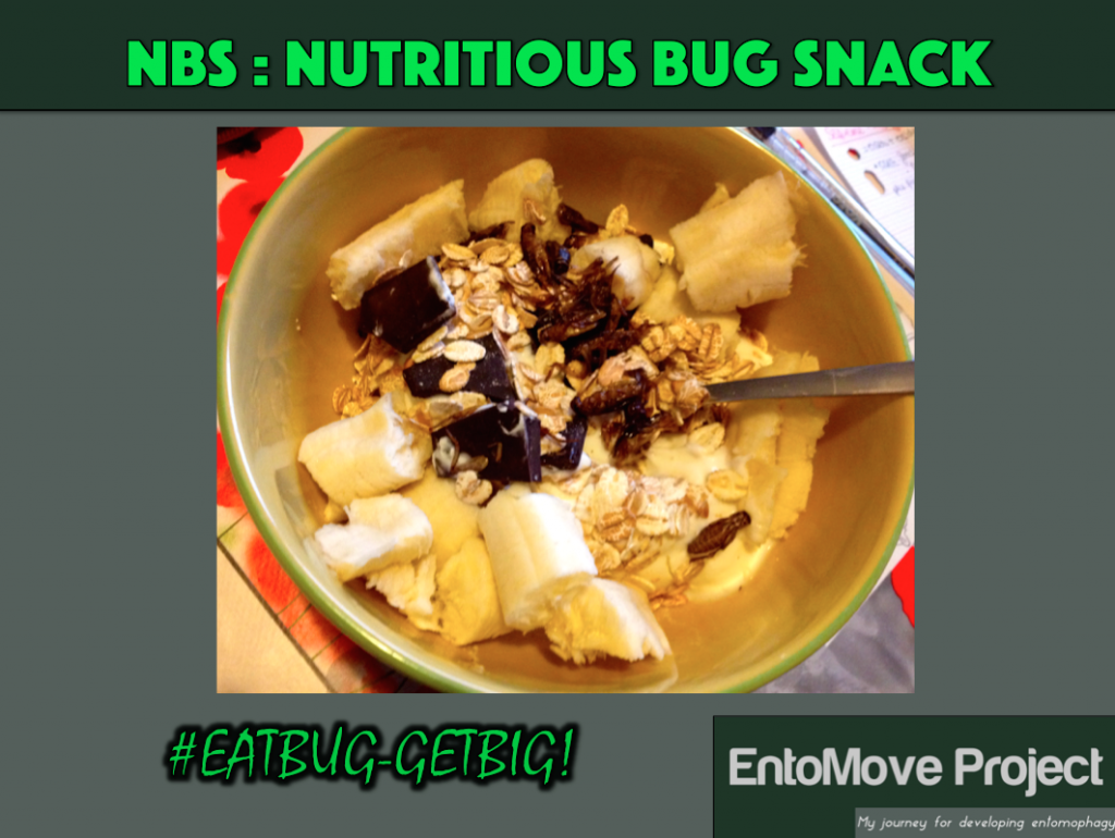 grillon collation protéines insectes fitness bodybuilding recette entomophagie