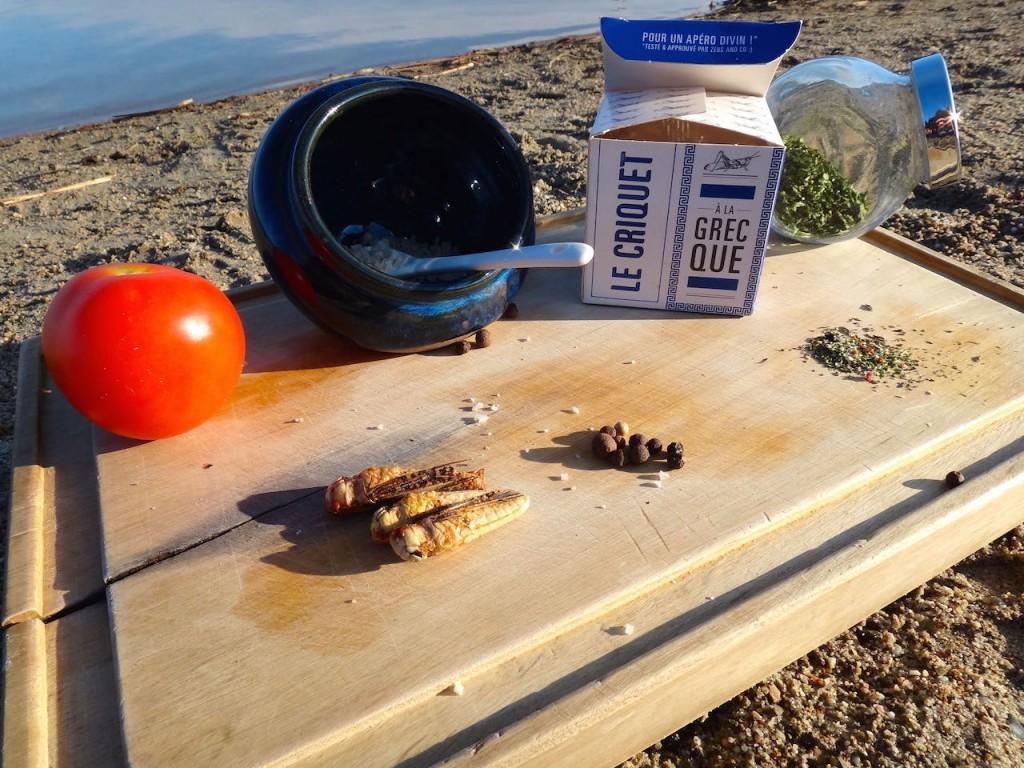 jiminis entomophagy edible insects locust grasshopper recipe healthy nutrition fitness paleo greece recipe food salad