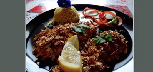 poulet pané insectes comestibles ver de farine ténébrion recette fitness