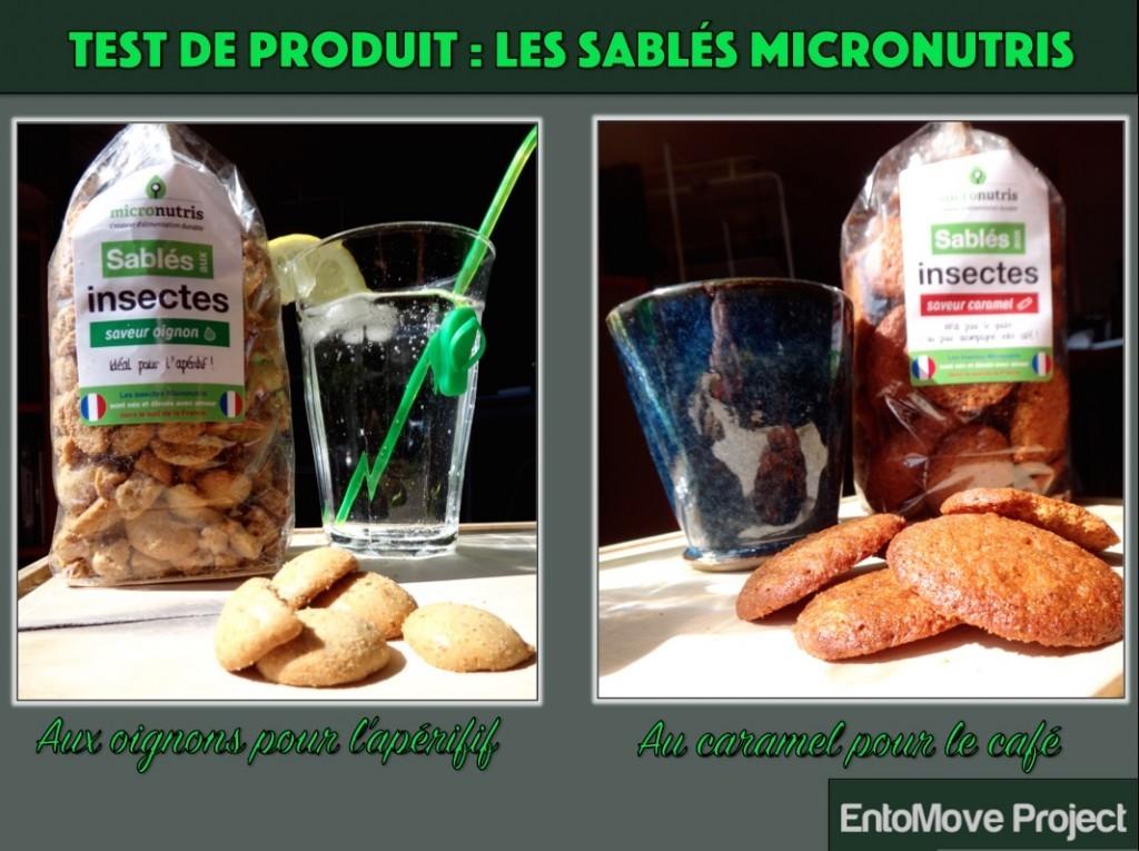 micronutris gateaux insectes comestibles