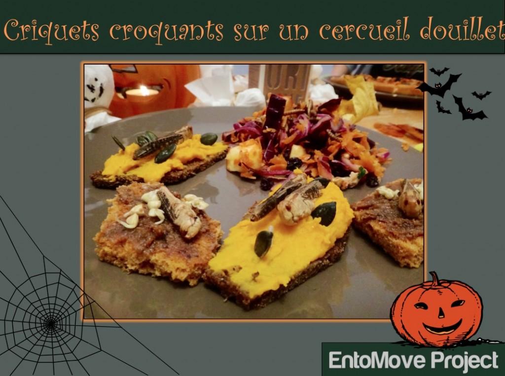 insectes pour halloween criquet recette entomophagie jiminis