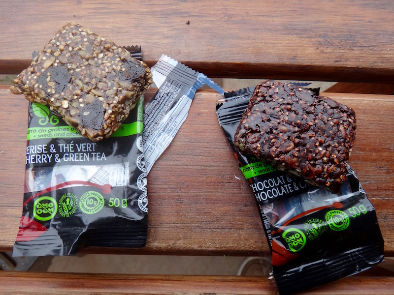 cricket flour energy bars insect protein