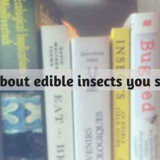 best edible insects books entomophagy
