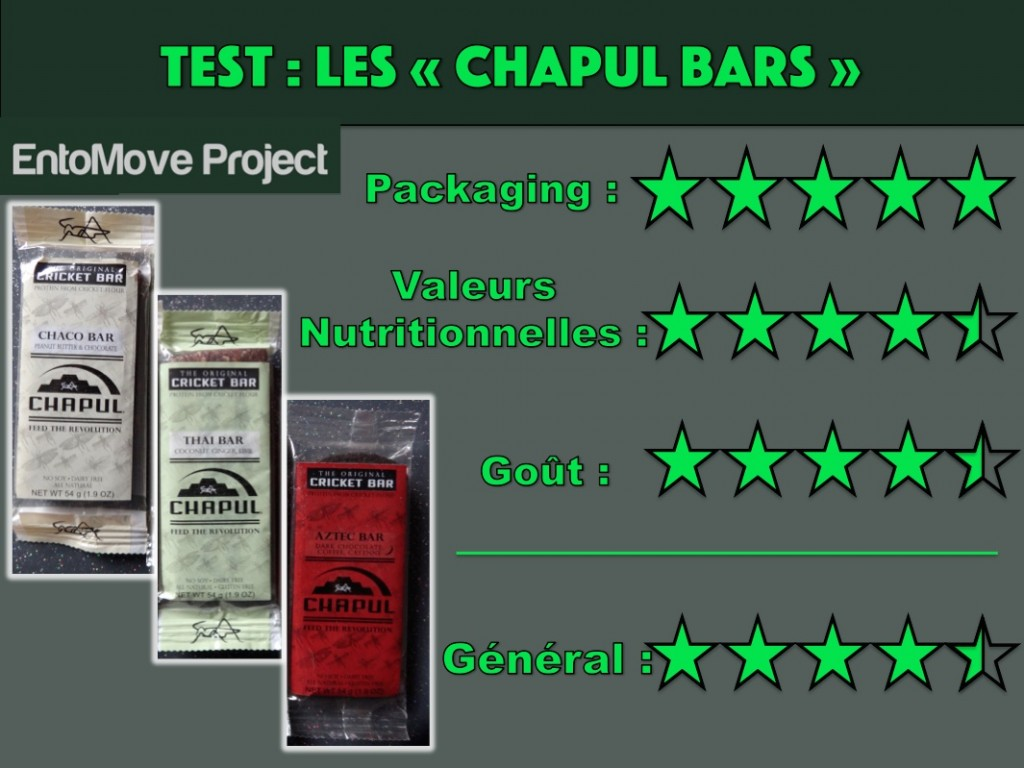 chapul bar test insecte entomophagie grillon entomoveproject