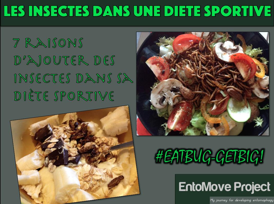 insectes musculation protéine régime diète sport