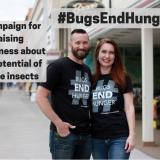 Bugs end hunger entomophagy edible insects cricket