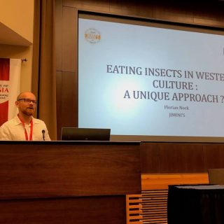 Florian nock presentation eating insects athens